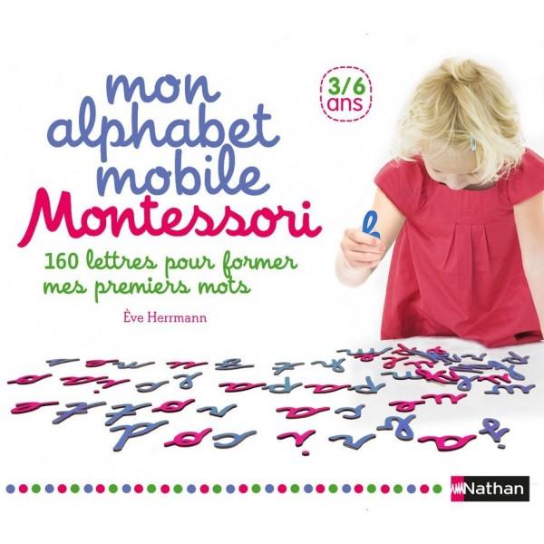 Mon alphabet mobile Montessori - 3/6 ans - Nathan