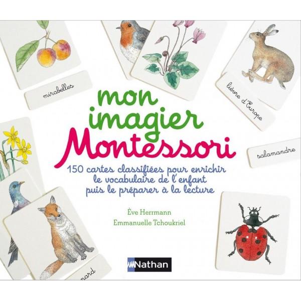 Mon coffret imagier Montessori - Nathan