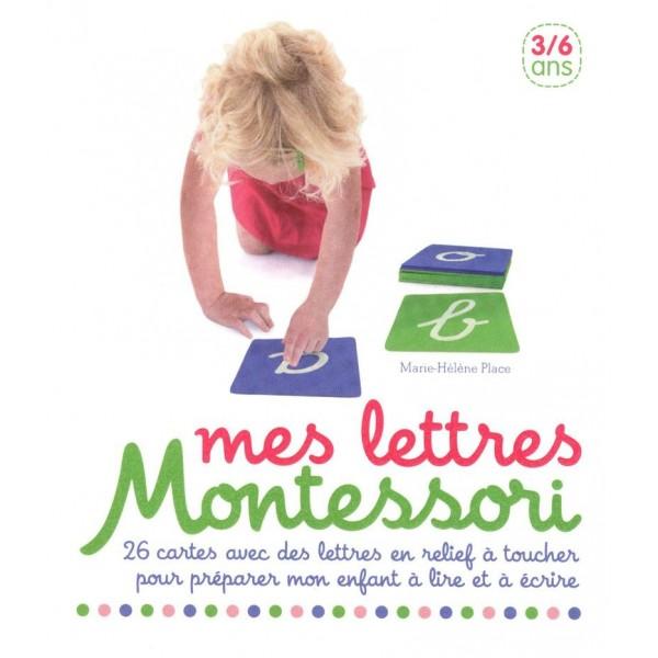 Coffret Mes lettres Montessori - 3/6 ans - Nathan