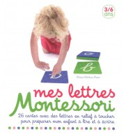 Coffret Mes lettres Montessori 3/6 ans