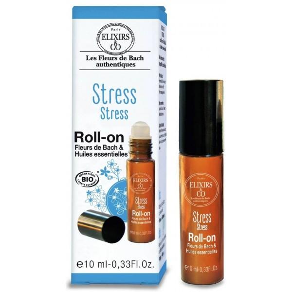 Roll-On Stress BIO - Fleurs de Bach - 10 ml - Elixirs & Co.