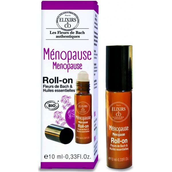 Roll-On Ménopause BIO - Fleurs de Bach - 10 ml - Elixirs & Co.