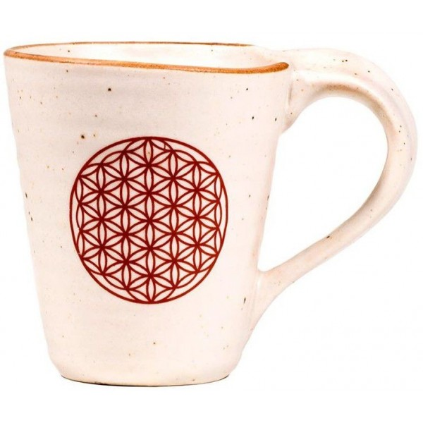 Mug en céramique Fleur de Vie - 350ml