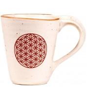 Mug en céramique Fleur de Vie