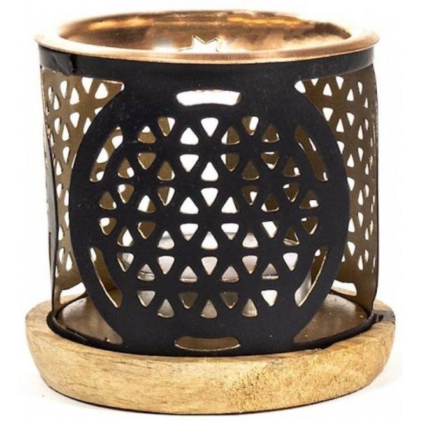 Brûleur encens & huiles essentielles - Fleur de vie - Aromafume