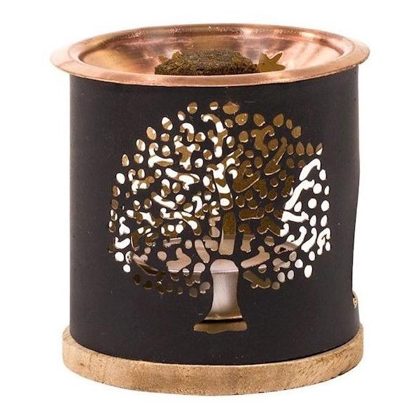 Brûleur encens & huiles essentielles - Arbre de Vie