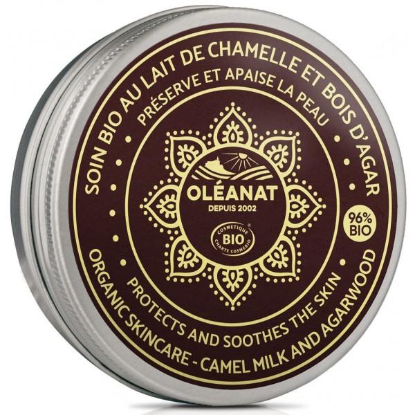 Baume BIO au lait de chamelle - bois d'Agar - 50 ml - Oléanat