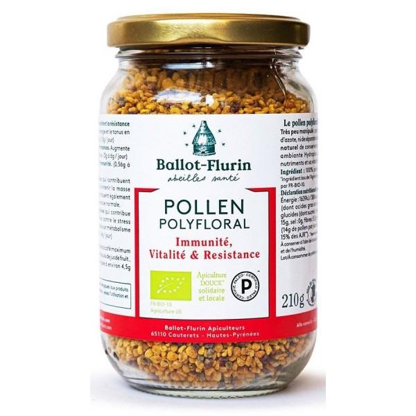 Pollen Polyfloral BIO - 210g - Ballot Flurin