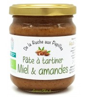 Pâte à tartiner BIO amandes & miel du Haut-Jura
