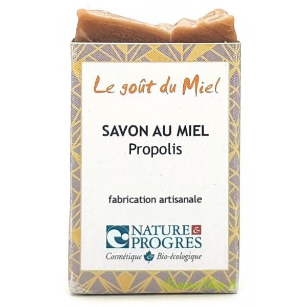 Savon BIO au miel & propolis - 100g - Le Goût du Miel