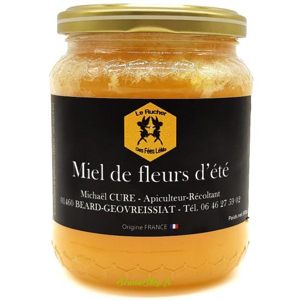 Miel de fleurs d'été du Haut-Bugey - 500g - Le Rucher des Fées Léma
