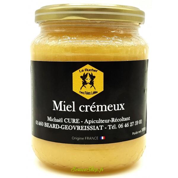 Miel crémeux du Haut-Bugey - 500g - Le Rucher des Fées Léma