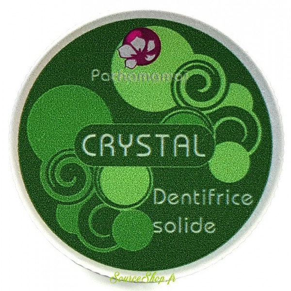Dentifrice solide aux deux menthes - Crystal - Pachamamaï