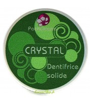 "Dentifrice solide aux deux menthes - ""Crystal"""