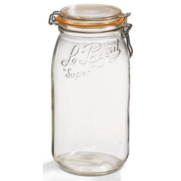 Bocal super 1,5L en verre - à l'unité - Le Parfait