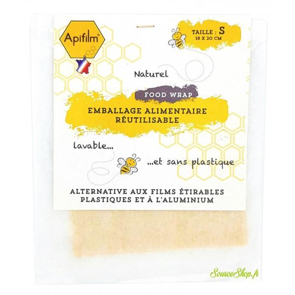 Emballage alimentaire à la cire d'abeille - Small - Apifilm