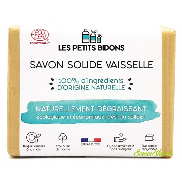 Savon vaisselle BIO solide - 200 g - Les Petits Bidons
