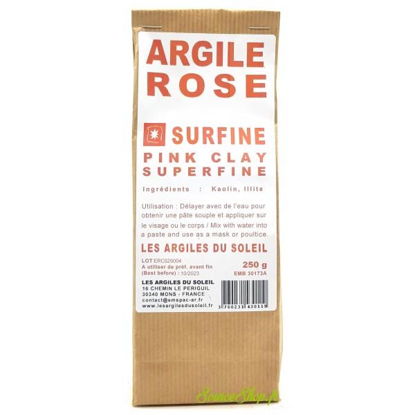Argile rose Clinchant - Surfine - Les Argiles du Soleil