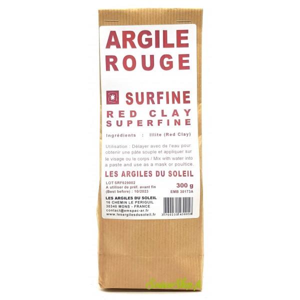 Argile rouge - Surfine - Les Argiles du Soleil