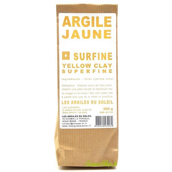 Argile jaune - Surfine - Les Argiles du Soleil