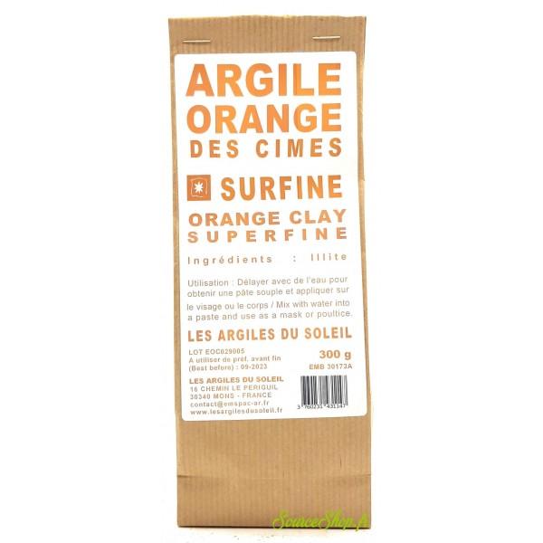 Argile orange - Surfine - Les Argiles du Soleil