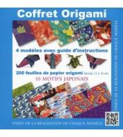 Coffret Origami - motifs japonais