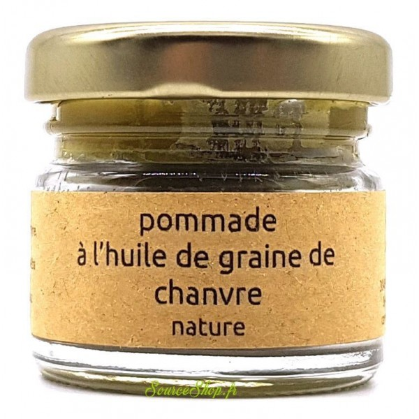 Pommade pure chanvre BIO artisanale - 20g - Canna d'Oc