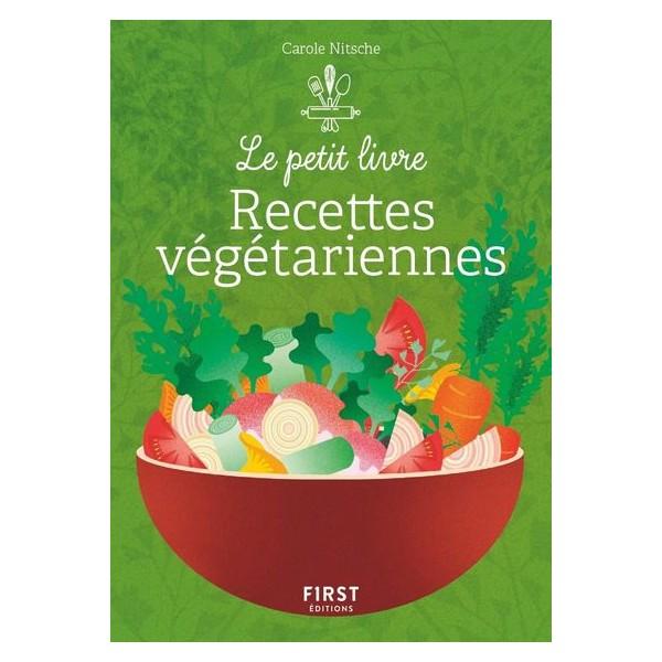 Le petit livre de recettes végétariennes