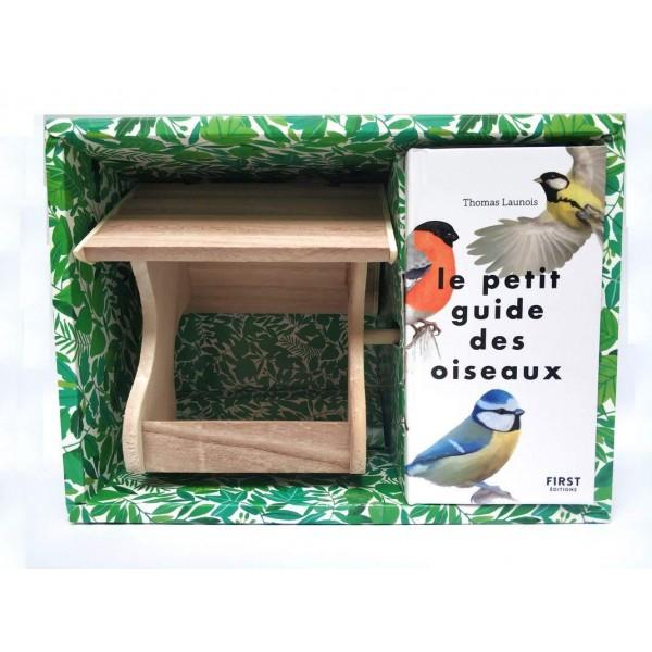 Coffret: Le petit guide des oiseaux + mangeoire