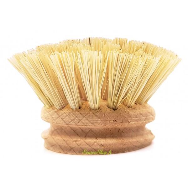 Brosse vaisselle en bois - Tête de rechange - La Droguerie Ecologique