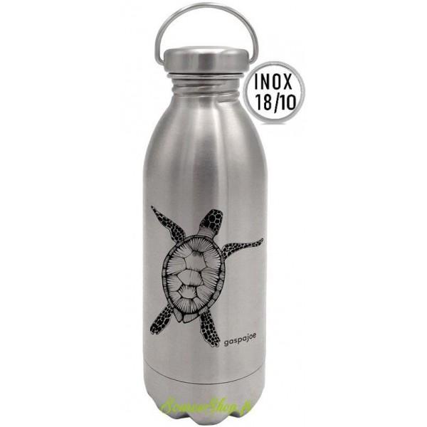 Gourde inox Daily - 450ml - Tortue - Inox 18/10 - Gaspajoe