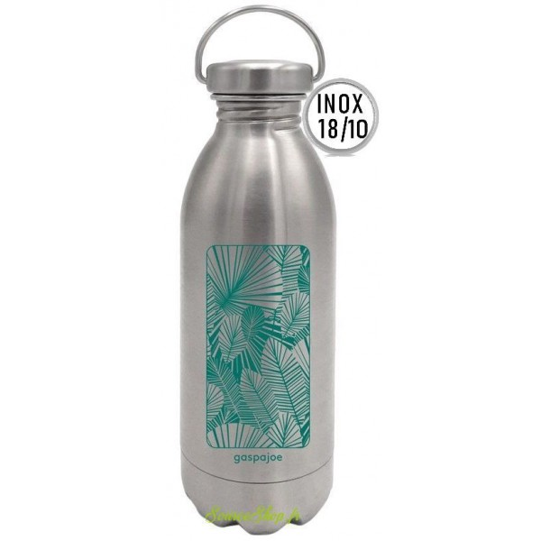 Gourde inox Daily - 450ml - Jungle - Inox 18/10 - Gaspajoe