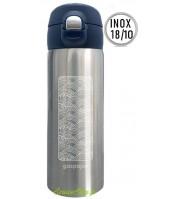 Mug inox isotherme Trendy - 350ml - Vagues