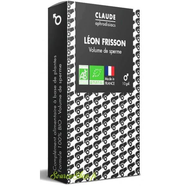Gélules aphrodisiaques BIO - volume de sperme - Léon Frisson