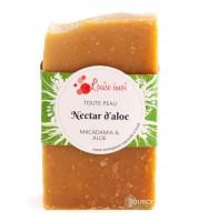 "Savon BIO à l'Aloe & Macadamia - ""Nectar d'Aloe"""