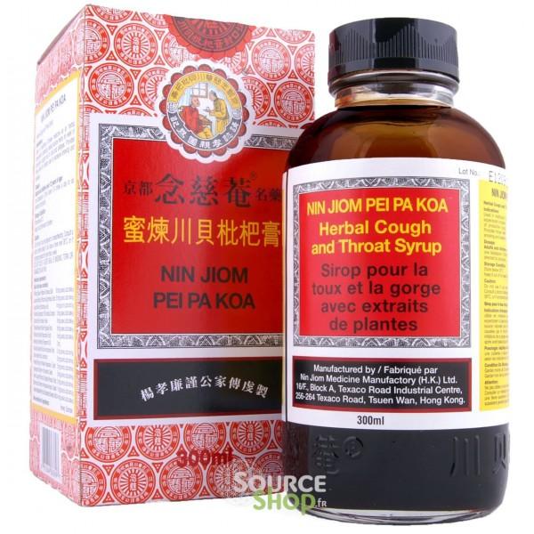 Sirop Nin Jiom Pei Pa Koa contre la toux - 150ml ou 300ml