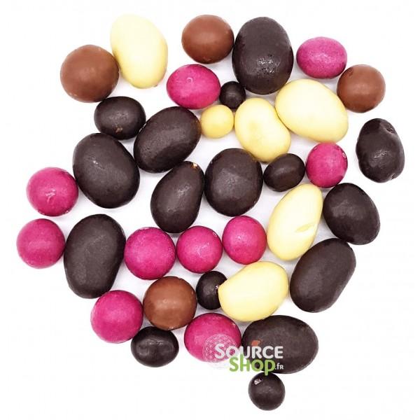 Mélange 4 couleurs BIO en vrac - chocolats - Belledone