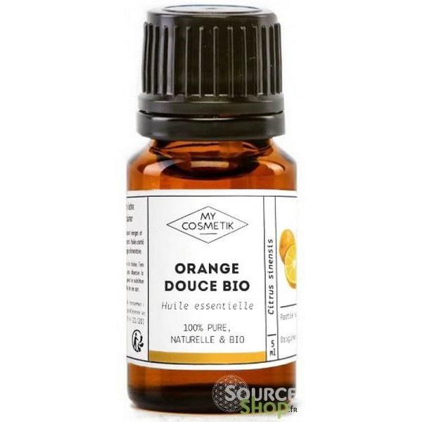 Huile essentielle d'orange douce BIO - MyCosmetik