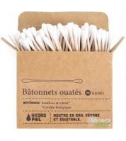 Boîte de 100 Coton-tiges BIO en bambou biodégradables