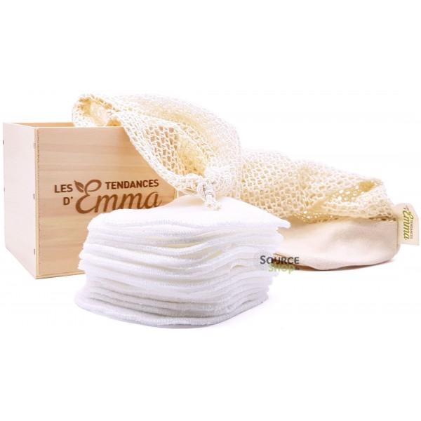 Kit Eco Belle Bois - lingettes démaquillantes - Les Tendances d'Emma