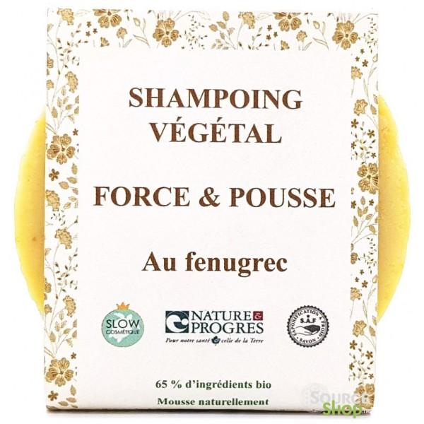 Shampooing solide BIO au fenugrec - Pousse des cheveux