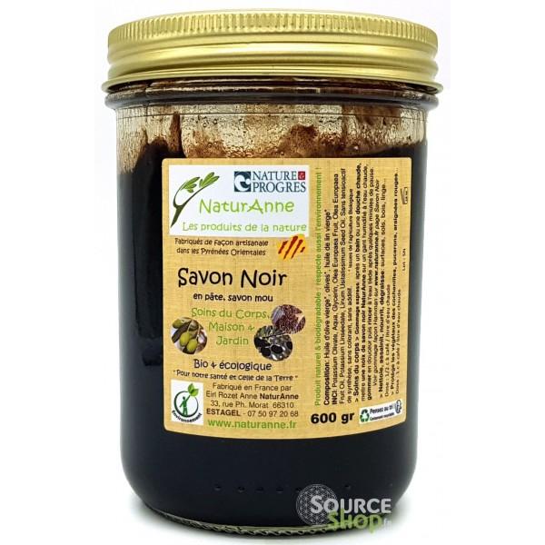 Savon noir BIO à l'huile d'olive - Artisanal & Français - NaturAnne