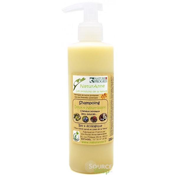 Shampooing BIO à la nigelle & ricin - Doux & nourrissant