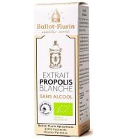 Extrait de propolis blanche BIO sans alcool