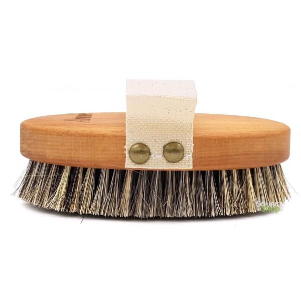 Brosse de massage pour corps en crin - Anaé