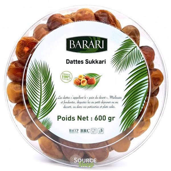 Dattes Sukari - Qualité Premium - 600g - Barari