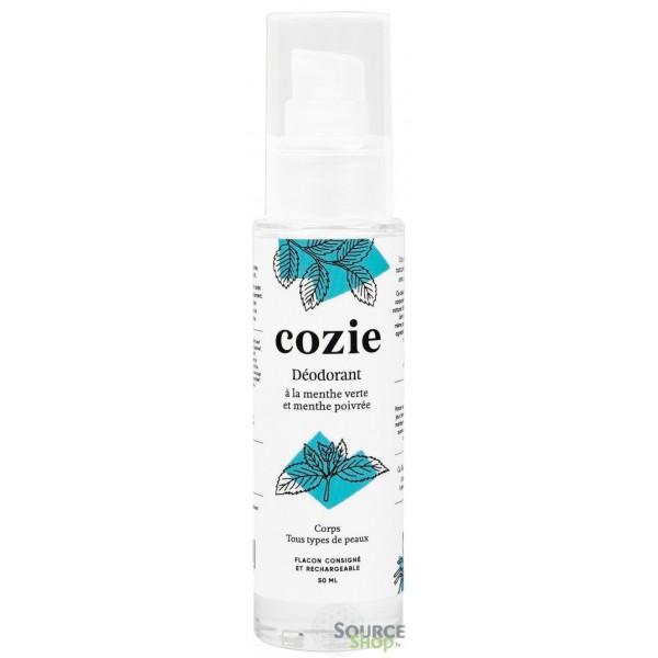 Déodorant BIO à la menthe verte & menthe poivrée - 50ml - COZIE
