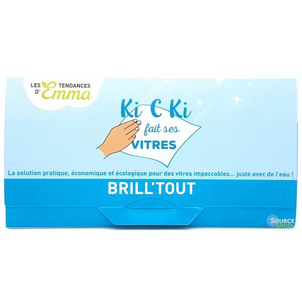 Lingettes nettoyantes vitres - Kit Brill'tout - Les Tendances d'Emma