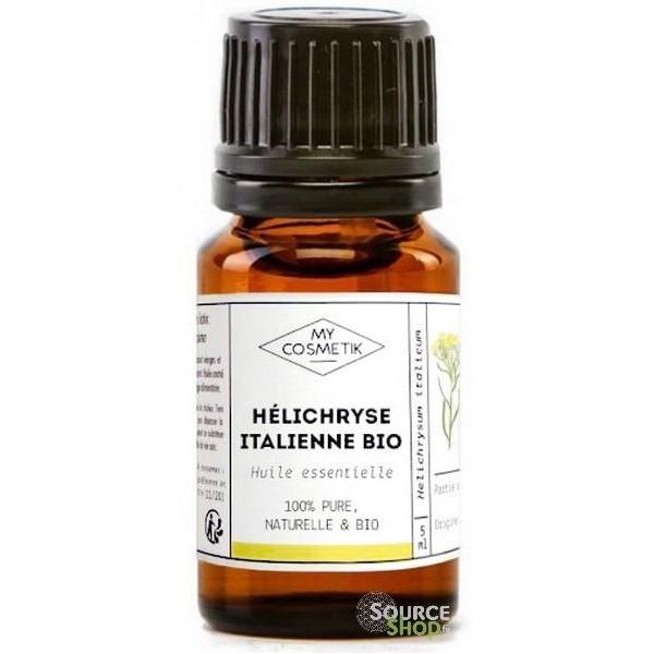 Huile essentielle d'Hélichryse italienne BIO - MyCosmetik