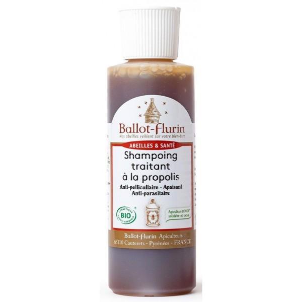 Shampooing BIO traitant à la propolis - 125ml - Ballot Flurin